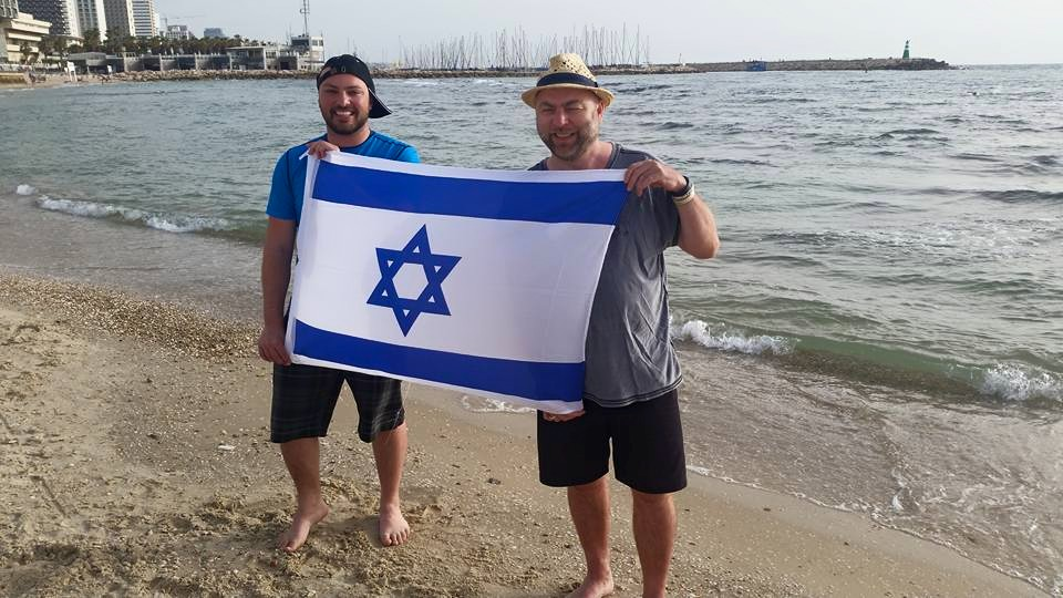 We are moving on:). Trip in Israel with Håvard Pedersen June 2015