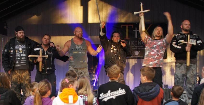 TX Vikings på tur i Israel