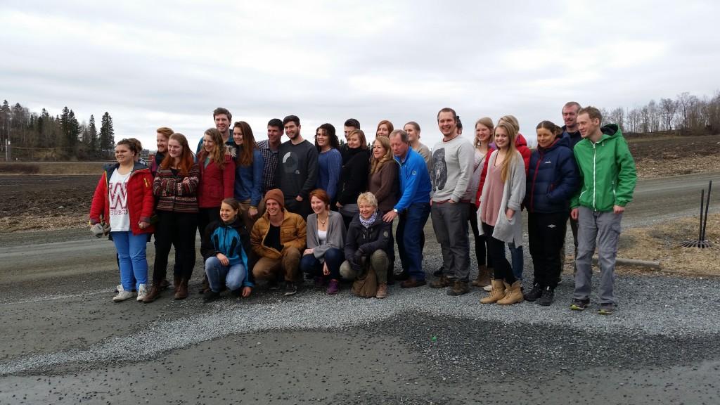 Bethel team. Mars 2015