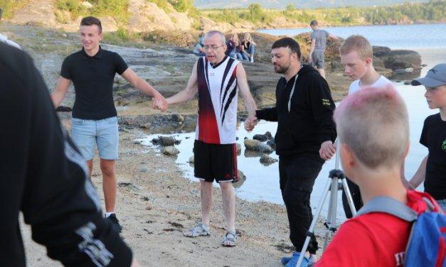 50 unge kom til Sion Brønnøysund