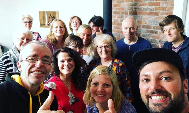 Innom bønnemøtet i Levanger