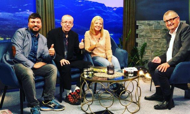 Intervju på Visjon Norge