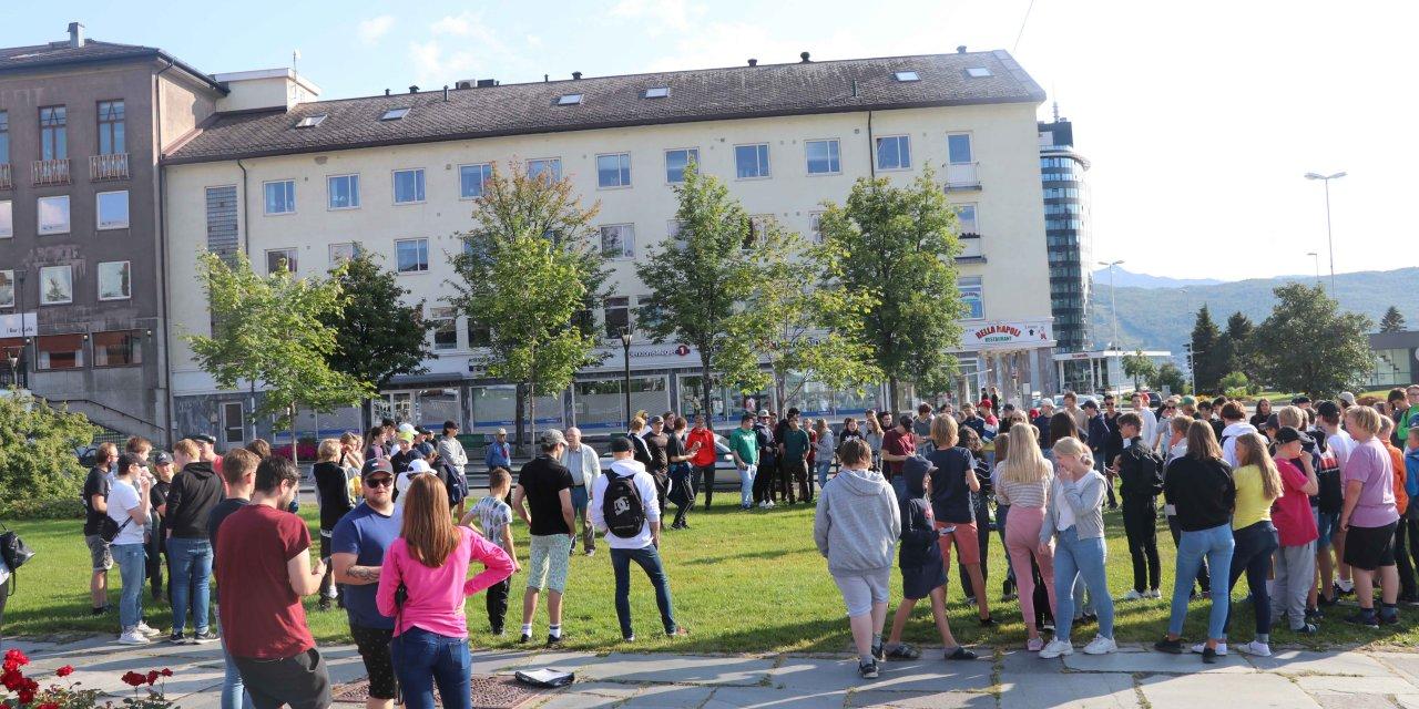 Mange frelsessøkende i Narvik
