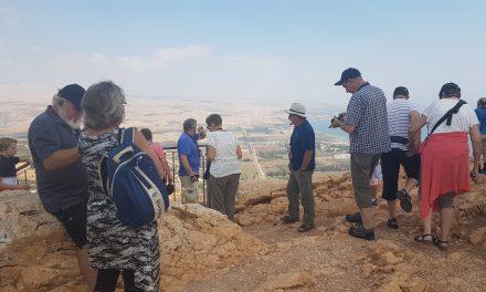 Tirsdag 3 Oktober – Ankomst Tiberias