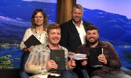 Søndag 2. Juni gjest på Visjon Norge.  Bønn for syke