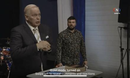 """9.Juni Kvelds-TV-møte """"Guds spesialstyrke"""" av Dwayne Swilley."""